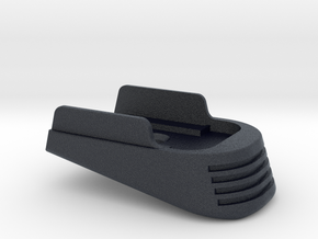 SIG P365 - Medium Extended Base Pad in Black Professional Plastic