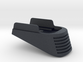 SIG P365 - Large Extended Base Pad in Black Professional Plastic