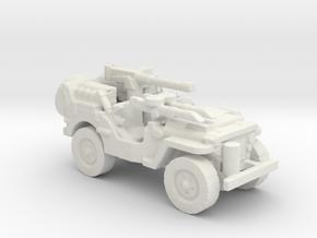 1/56 28mm SAS Jeep 2 in White Natural Versatile Plastic