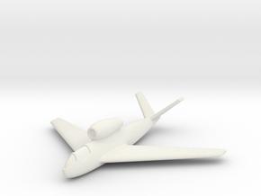 (1:285) Heinkel P 1073.11 in White Natural Versatile Plastic