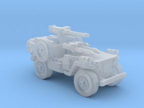 1/56 28mm LRDG SAS Jeep 3 in Smooth Fine Detail Plastic