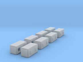 1/87th Precast Barrier Concrete Block in Smooth Fine Detail Plastic