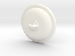 1x Ceiling Plate/Hook For Light - Trad in White Processed Versatile Plastic