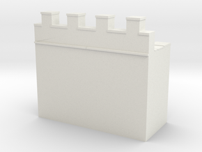 Roman hadrian's wall  1/160 in White Natural Versatile Plastic