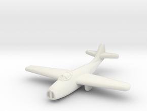 Mig-9 Jet Fighter (Russia) in White Premium Versatile Plastic