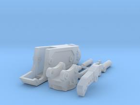 1:50 Third Member Shear for Komatsu PC138 in Smooth Fine Detail Plastic