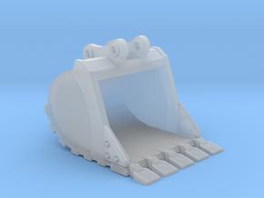 "1:50 42"" PC138 Bucket+ Spade teeth in Smooth Fine Detail Plastic"