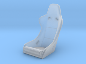 Race Seat RType2 - 1/35 in Smooth Fine Detail Plastic