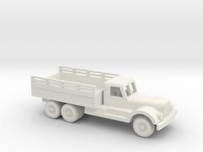 1/64 ScaleDiamond T Engineering Truck in White Natural Versatile Plastic