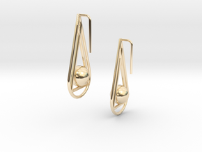 Emily in 14k Gold Plated Brass
