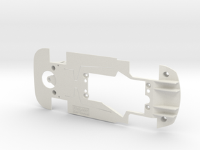 PSSX00501 Chassis for Scalextric Bentley GT3 in White Natural Versatile Plastic