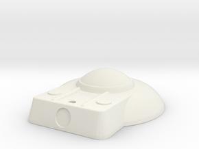 1:537 Replacement TaylorBridge_For_B-C_Deck in White Natural Versatile Plastic