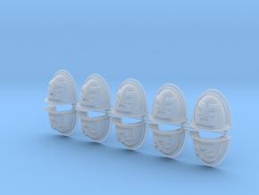 War God Mk2 Shoulder Pads x10 #2 in Smooth Fine Detail Plastic