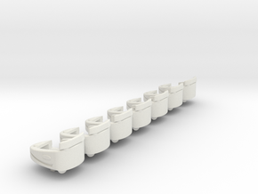 new style tilt tub without the bonnett but has add in White Natural Versatile Plastic