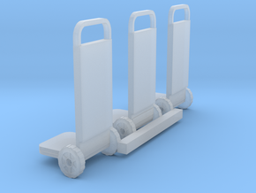 HO Scale 2 Wheelers in Smooth Fine Detail Plastic