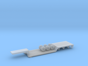 1/87 Scale Transit RGN Trailer in Smooth Fine Detail Plastic