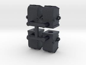 Flip top axlebox x4 in Black PA12