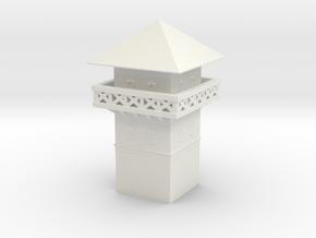 hadrian's wall   roman Watchtower 1/285 6mm  in White Natural Versatile Plastic