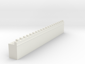 hadrian's wall 1/200 in White Natural Versatile Plastic
