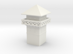 roman Watchtower 1/350  in White Natural Versatile Plastic