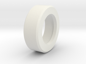 P/N OSCROD1, Steelcase roller, ball bearing adapte in White Natural Versatile Plastic