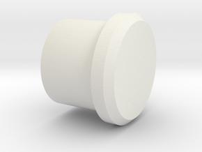 P/N OSCRID2, Steelcase roller, ball bearing adapte in White Natural Versatile Plastic