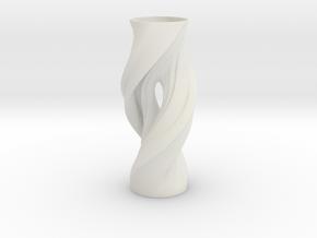 Vase FTV2238 in White Natural Versatile Plastic