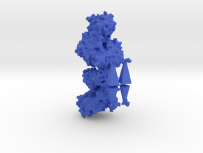 Human Hexokinase I - Allosteric regulation model in Blue Processed Versatile Plastic