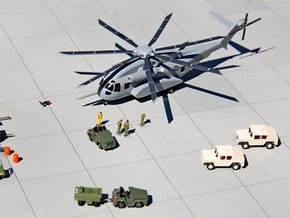 047B Sikorsky CH-53K 1/200 in Smooth Fine Detail Plastic