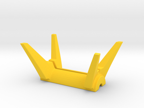 Drive stand 2 in Yellow Processed Versatile Plastic