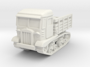 STZ 5 tractor scale 1/100 in White Natural Versatile Plastic
