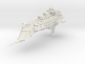 Crucero Pesado clase Dominion in White Natural Versatile Plastic