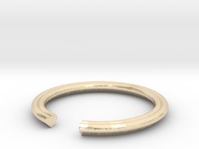 Heart 13.61mm in 14k Gold Plated Brass
