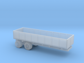 1/144 Scale M-35 Cargo Trailer in Smooth Fine Detail Plastic