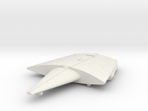 3125 Scale Hiver Battlecruiser (BC) MGL in White Natural Versatile Plastic