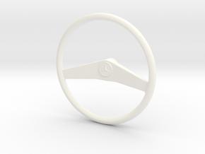 Lenkrad Unimog in White Processed Versatile Plastic
