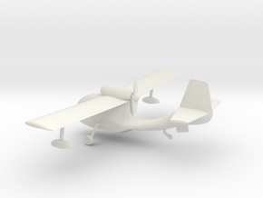 Republic Seabee - HOscale in White Natural Versatile Plastic