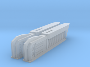 Turtleshell Antagonist Nacelles 4 in Smooth Fine Detail Plastic