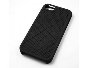 Midtown/ Theater District NYC Map iPhone 5/5s Case in Black Natural Versatile Plastic