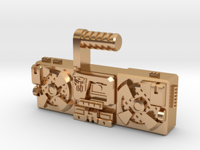 Titans Return Blaster, TF Compatible (3mm, 5mm) in Polished Bronze: Small