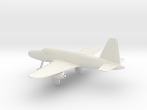 Dornier P.256/1-01 in White Natural Versatile Plastic: 1:64 - S