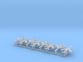 F-105D & G w/Gear x8 (FUD) in Smooth Fine Detail Plastic: 1:700