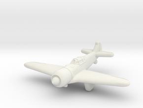 La-5 Fighter (Russia) in White Premium Versatile Plastic