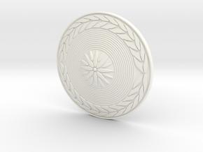 TITAN SHIELD  in White Processed Versatile Plastic