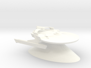 Federation of Planets - Miranda in White Processed Versatile Plastic