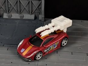 TF CW Dead End Car Cannon Seige Compatible in White Natural Versatile Plastic
