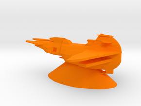 Cardassian Union - Dreadnought in Orange Processed Versatile Plastic