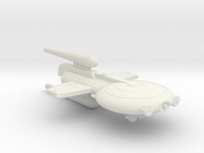 3788 Scale Gorn Heavy Destroyer Scout SRZ in White Natural Versatile Plastic