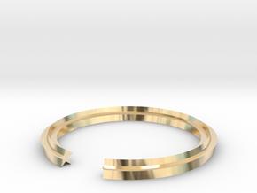 Star 13.61mm in 14k Gold Plated Brass