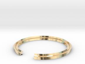 Star 16.30mm in 14k Gold Plated Brass
